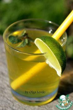 Лимон мята сахар вода