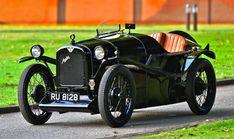 "1928 Austin Seven ""Brooklands"" Super Sports by Gordon Englan SOLD (picture 1 of Austin Seven, The Austin, Classic Cars Australia, Vintage Cars, Antique Cars, Best Tyres, Black Wings, Wet Weather, Super Sport"