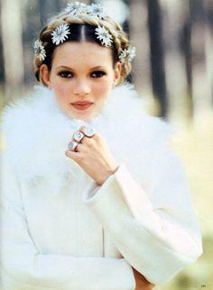Kate Moss by Arthur Elgort II  Vogue Italia October 1992
