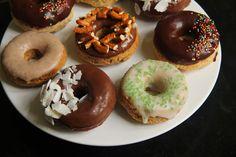 Krebsen und Aluette: Donuts ohne Gluten aber mit viel Glasur