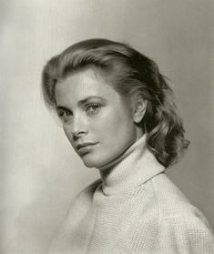 Grace Kelly aged 24, photographed by Philippe Halsman, 1954.