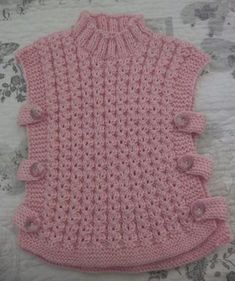 Crochet Baby Poncho, Baby Cardigan Knitting Pattern Free, Baby Boy Knitting Patterns, Baby Sweater Patterns, Crochet Poncho Patterns, Baby Girl Crochet, Knitting For Kids, Baby Knitting, Knitted Baby Clothes