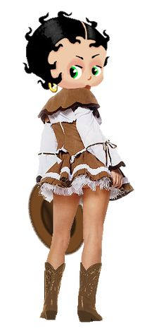 Betty Boop Cowboy Take Me Away