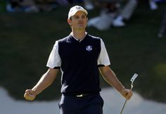 J Money... Justin Rose clutch at the Ryder Cup