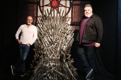 8 Things You Have in Common With Kristian Nairn and Liam Cunningham — Making Game of Thrones