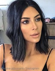 Inspiration beauté : le carré flou de Kim Kardashian - Tap the LINK now to see all our amazing accessories, that we have found for a fraction of the price < Kim Kardashian Bob, Kim Kardashian Makeup 2017, Kardashian Wedding, Kardashian Jenner, Kylie Jenner, Nude Makeup, Hair Makeup, Kim K Makeup, Hair Inspo