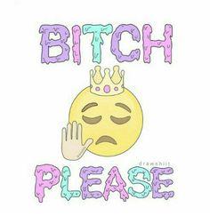 Bitch please emoji uploaded by Hailey McClelland Emoji Wallpaper, Image Sharing, Overlays, Disney Characters, Fictional Characters, Comics, Creative, Illustration, Design