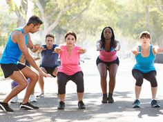 Spring into fitness with this quick circuit that you can do outside.