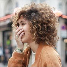 Lots of celebrities these days sport short curly hair styles, but some of them really stand out. When we think of curly short hair, the image of AnnaLynne Short Permed Hair, Short Curly Hairstyles For Women, Thick Curly Hair, 2015 Hairstyles, Curly Hair Cuts, Permed Hairstyles, Short Hair Cuts, Curly Hair Styles, Natural Hair Styles