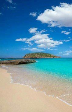 thursday - on the house - Cala Conta, Ibiza , Spain Dream Vacations, Vacation Spots, Ibiza Beach, Ibiza Town, Beaches In Ibiza, Places To Travel, Places To Visit, Ibiza Formentera, Menorca