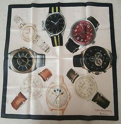 Paul Smith - 20th Anniversary of Watch Collection Limited Edition Handkerchief