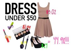 """Dress Under $50"" by briarisspecial ❤ liked on Polyvore"