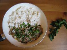 Hubový stroganov Grains, Food, Essen, Meals, Seeds, Yemek, Eten, Korn