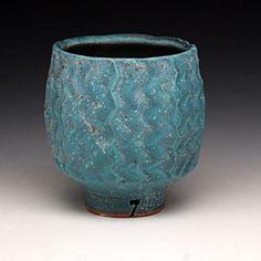 Jeff Oestreich - tea bowl - Red Lodge Clay Center