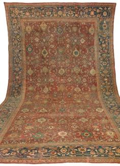 SULTANABAD CARPET  Northwest Persia, Circa 1890  Approximately 24 ft. 9 in. x 14 ft. 8 in. (754 x 447 cm.)  I Christie's Sale 1682