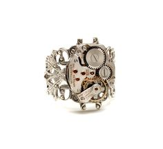 Steampunk Ring Steam Punk Ring Steampunk by VictorianCuriosities, $45.00