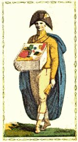 The Magician from the Aleph Tarot