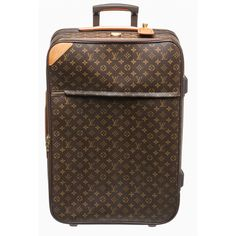 Pre-owned Louis Vuitton Travel (2,590 CAD) ❤ liked on Polyvore featuring bags, luggage, mala, purses, luggage & bags and luggage accessories