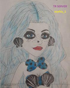 Mermaid drawing by one of our fans #moviestarplanet #MSP www.moviestarplanet.com