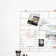diy organiseur de bureau buro organizadores y cart n. Black Bedroom Furniture Sets. Home Design Ideas