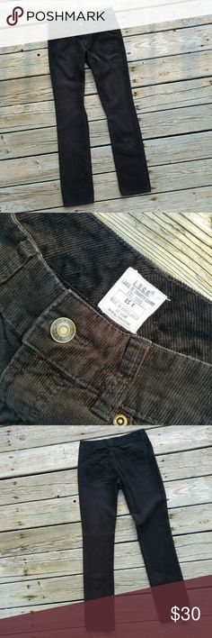 LOGG H&M Black Skinny Cords Pants Soft and classic black corduroy pants. Straight, skinny leg.   Size 4. 30 inch waist. 31.5 inch inseam.  100% cotton.  Excellent condition! H&M Pants Skinny