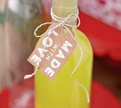 Make Your Own Limoncello recipe  | World Market has nice bottles