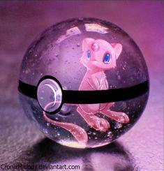 :GA: Mew Pokeball by CronixMelody on DeviantArt - Pokemon Pokemon Backgrounds, Cool Pokemon Wallpapers, Cute Pokemon Wallpaper, Mew And Mewtwo, Pikachu Art, Pokemon Eeveelutions, Pokemon Craft, O Pokemon, Pokemon Fan Art