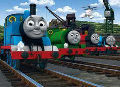 'Disney Thomas & Friends' wallpaper – WALLTASTIC