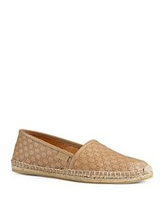 Gucci Pilar Guccisima Leather Loafers