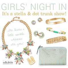 Girls Night In Stella & dot fall 2015 trunk show party