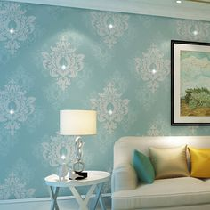 check price european style wallpapers 3d thicken non woven wallpaper for walls 3 d non woven wall paper #heat #embossing