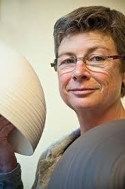 Ceramic artist Ann Van Hoey