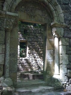 A Visigoth church in the forest of Sintra in Portugal