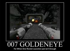 So many fond memories of playing Goldeneye for the N64