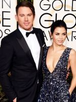 The Cutest Couples At The 2016 Golden Globes  #refinery29  http://www.refinery29.com/2016/01/100823/golden-globes-cutest-couples-2016