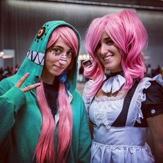 #japanweekend #japanweekendbilbao #cosplay #cosplaying #costume #cosplayer #animecosplay #anime #animegirl #manga #pinkhair #pink #cute #cuteness