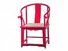 Indigo Living | shopping | Cerise Colour Emperor Chair