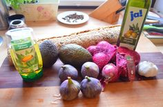 Vegan CooKing: Feigen-Avocado Bruschetta