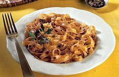 Fettuccine alla crema di olive - La ricetta di Buonissimo