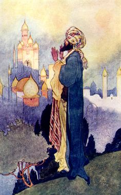 'Old Time Tales'; illustrated by Charles Robinson