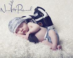 Now It's Personal Photography - hockey newborn