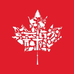 Canada Day logo from Canadian Tourism Commission, Ontario, Vancouver, All About Canada, Canada Pictures, I Am Canadian, Canadian Maple, Canadian Things, Happy Canada Day, Canada 150