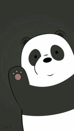 Best of We Bare Bears Wallpaper - Get super charming and attractive ideas related of We Bare Bears Cartoon Images on ThePhotocrafters. You'll find a spectacular selection of HD wallpapers and backgrounds. Cute Panda Wallpaper, Bear Wallpaper, Wallpaper Iphone Cute, Disney Wallpaper, Galaxy Wallpaper, Lock Screen Wallpaper, Wallpaper Backgrounds, White Wallpaper, Hello Wallpaper