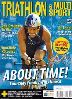 Triathlon and Multi Sport magazine Noosa Race recovery Ironman Anne Garton