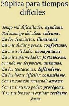 Faith Prayer, God Prayer, Prayer Quotes, Bible Quotes, Spiritual Prayers, Spiritual Messages, Prayers For Healing, Spanish Inspirational Quotes, Inspirational Prayers
