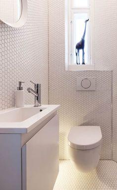 "Trend ""Hexagonal"" Mosaic Tiles: moderne Badezimmer von trend group"
