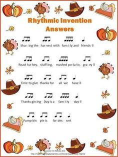 12 Rhythm Invention Worksheets - ANSWER sheets also included    $