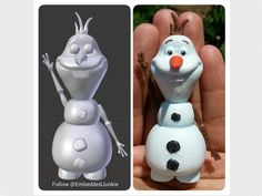 Olaf from Disney's Frozen by embeddedjunkie - Thingiverse