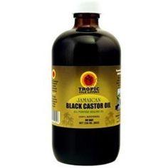 Tropic Isle Living Jamaican Black Castor Oil, 8 oz - Walmart.com