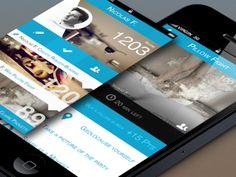 iPhone App Interface